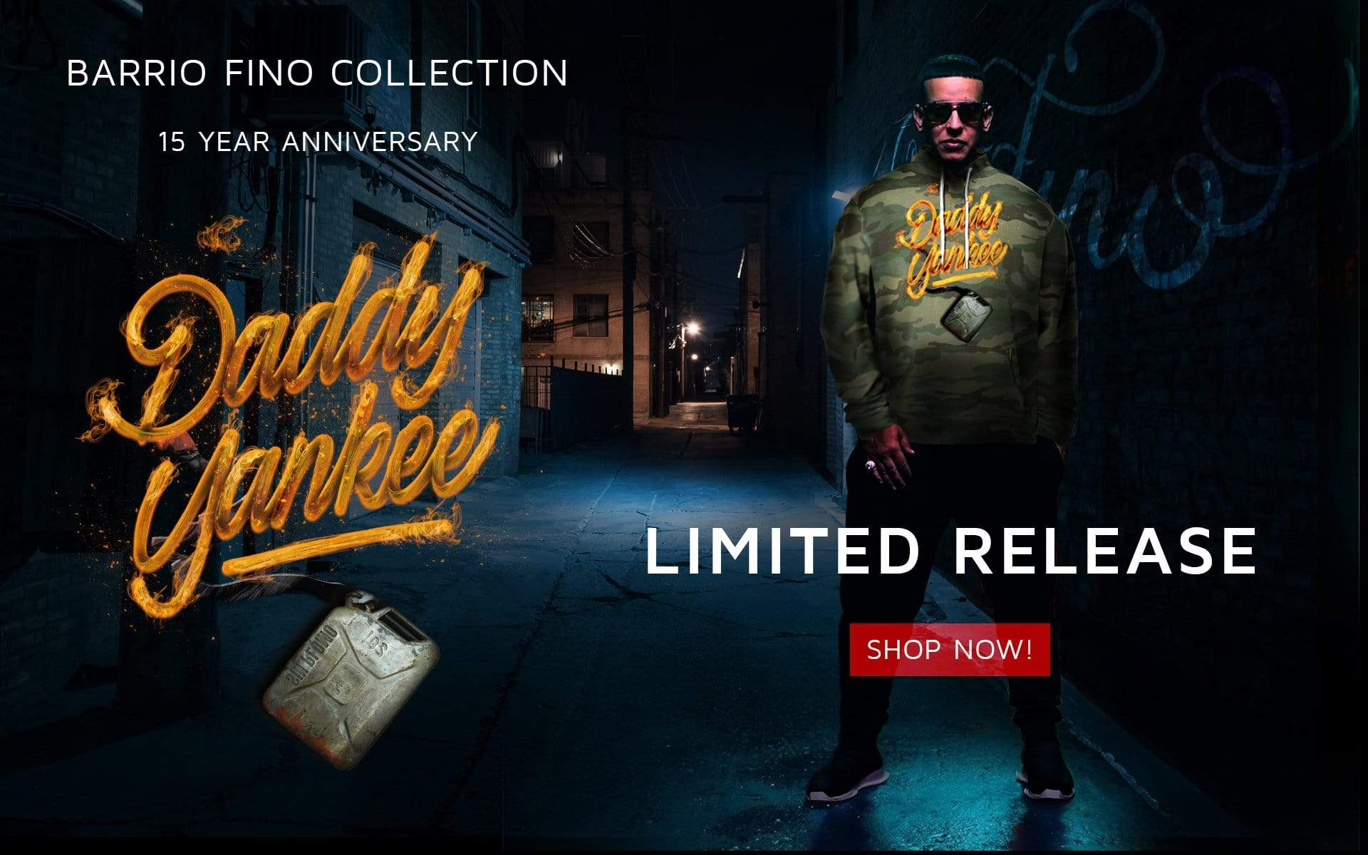 Barrio Fino 15th Anniversary Collection