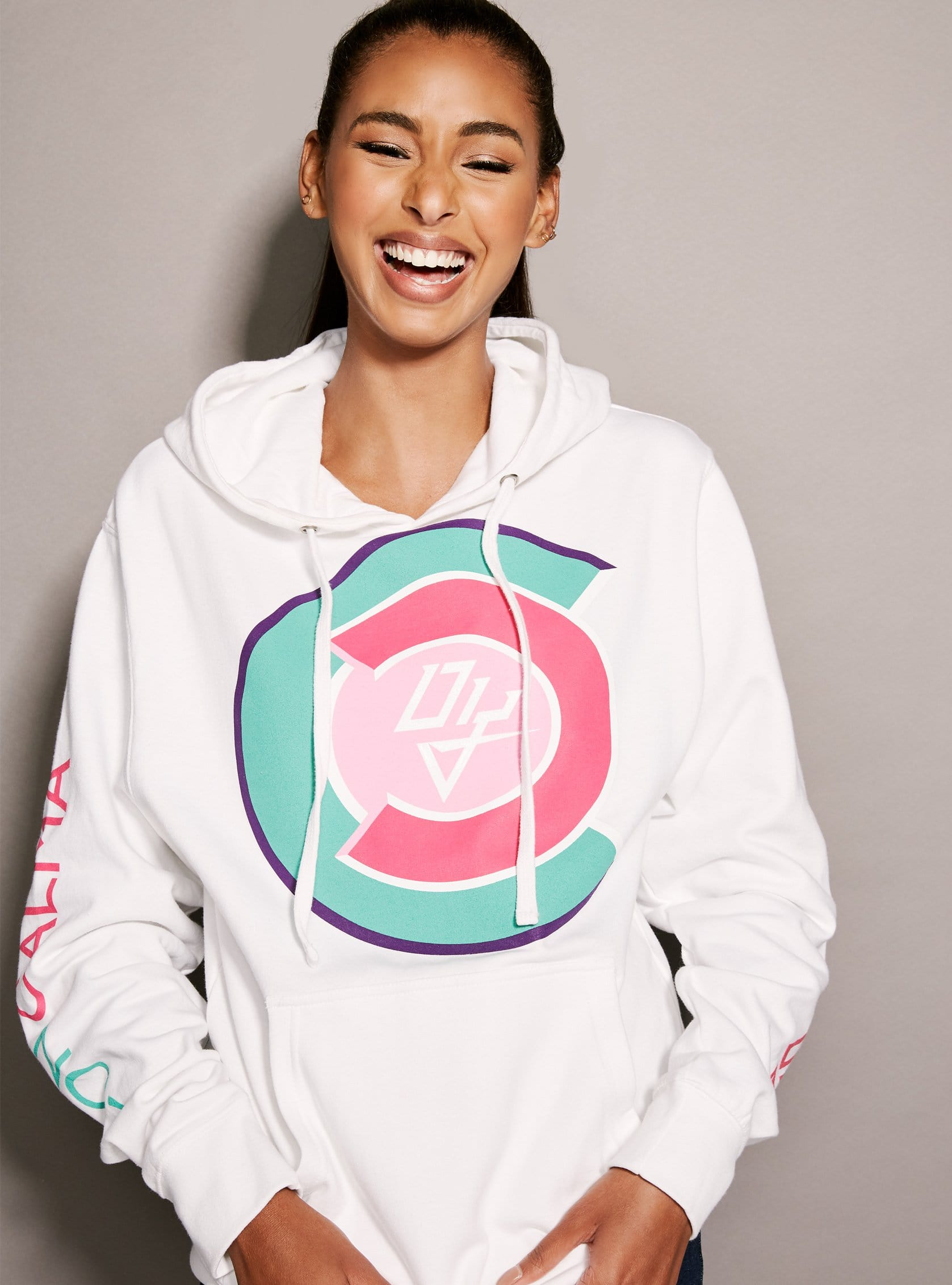 huge selection of 11137 04011 Con Calma Hoodie White