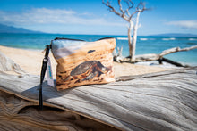 "Load image into Gallery viewer, ""Honu"" Medium Canvas Zippered Carry All"