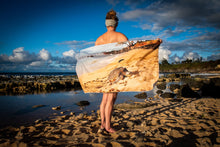 "Load image into Gallery viewer, ""Honu"" Microfiber Suede Towel"