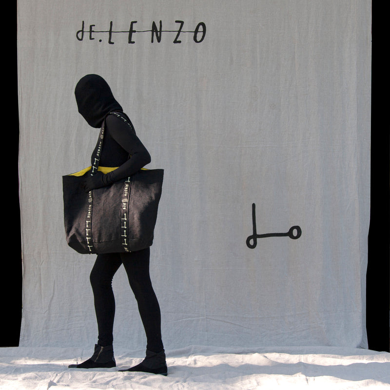 Shopper bag L- NEGRA
