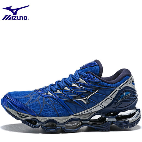 pretty nice c396f afbb4 Mizuno Wave Prophecy 7 Professional Shoes for Men 5 Color Mesh Lightweight  Breathable Air Cushion Weightlifting