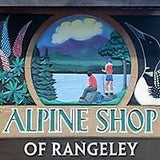 Sign Alpine Shop of Rangeley Maine