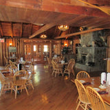 Dining at Bald Mountain Camps in Rangeley,Maine