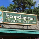 Sign of Ecopelagicon Rangeley Maine