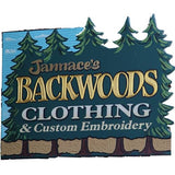 Backwoods of Rangeley, Maine sign