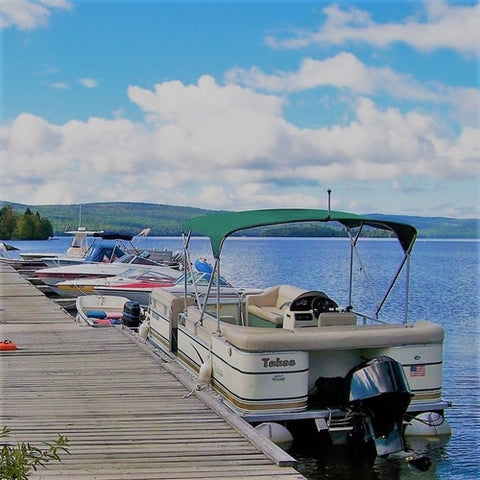 Dock at Lakeside Marina, Rangeley Maine