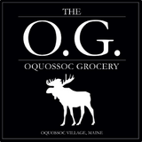 Moose Logo of Oquossoc Grocery, Rangeley, Maine