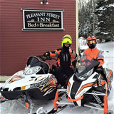 Snowmobiling at Pleasant Street Inn, Rangeley, Maine
