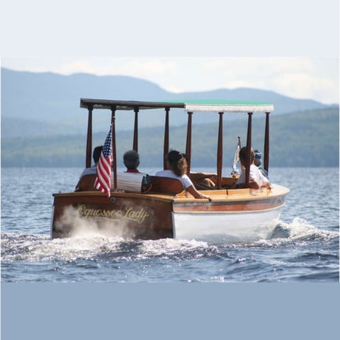 Boat of Rangeley Region Lakes Cruises and Kayaking, Maine