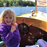 Child at Rangeley Region Lakes Cruises and Kayaking, Maine