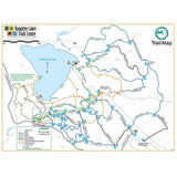 Map of Rangeley Lakes Trails Center, Maine
