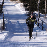Skiing at Rangeley Lakes Trails Center, Maine