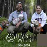 Logo of Riverweb Farm in Phillips & Avon, Maine