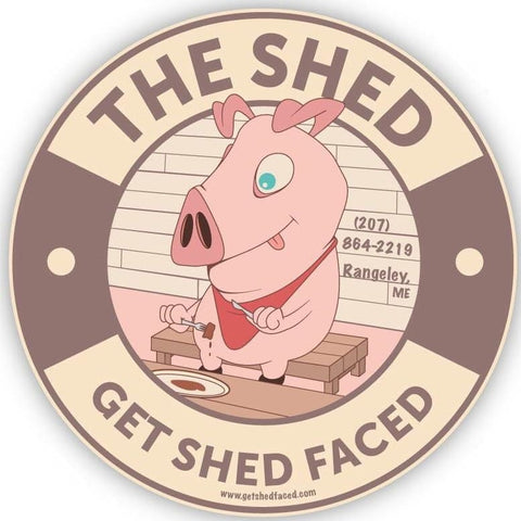 Logo of The Shed BBQ, Rangeley, Maine