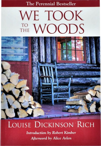 We Took to the Woods - Rich - book front cover