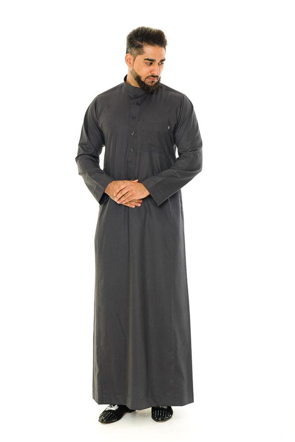 Saudi Collar Jubbah Thobe - Thobe London