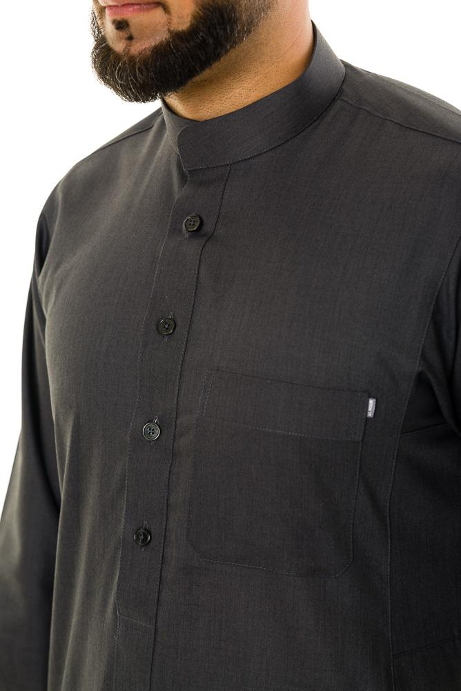 Saudi Collar Mens jubba thobe - Thobe London