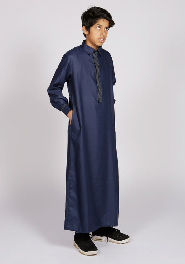 Smart Premium Jubba for Kids - Thobe London