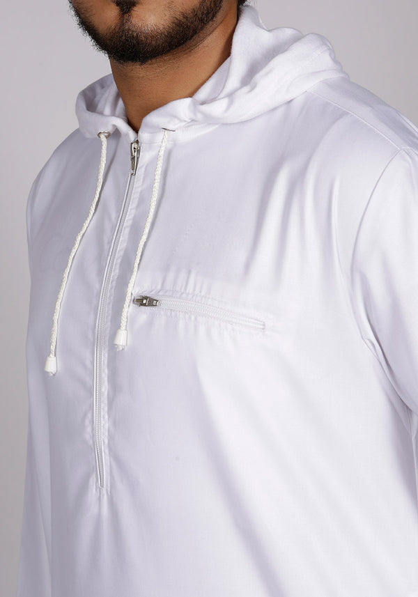 Urban Hoody Thobe White - Thobe London