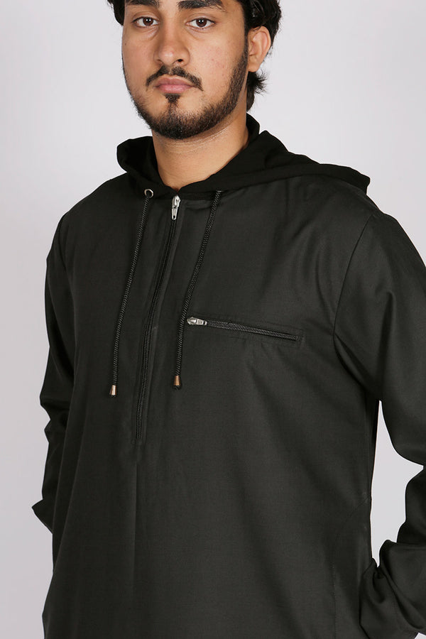 Urban Hoody Thobe Black - Thobe London