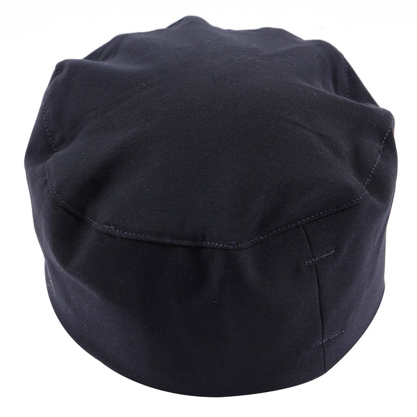 Navy Premium Kufi Prayer Hat - Thobe London