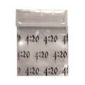 Apple Baggies 1″ x 1″ - 1000 Pcs