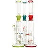 "17"" Stem Line Glass Percolator - Marble Colours"