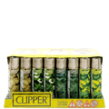 Clipper Camo Collection Lighters - 48 Pack
