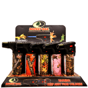 Eagle Mossy Oak 4″ Torch Lighter – 15 Pack Display Case