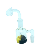 "4"" Arsenal Glass Oil Reclaimer with 90 Degree Banger"