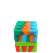 20ml Lego Silicone Square Container - Assorted Colours