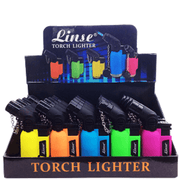 Linse Angle Torch Lighter – 20 Pack Display Case