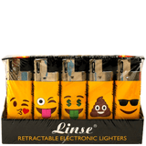 Linse Kaomoji Lighters - 50 Pack