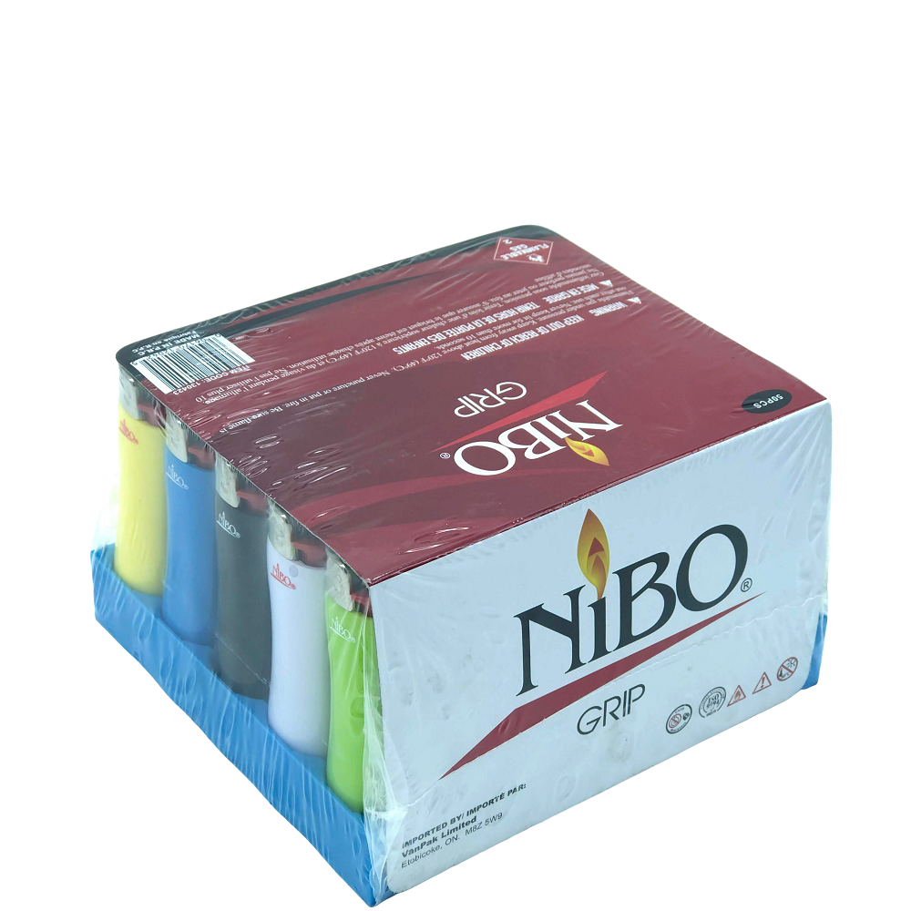 Nibo Lighters Grip Series - 50 pcs Display Case