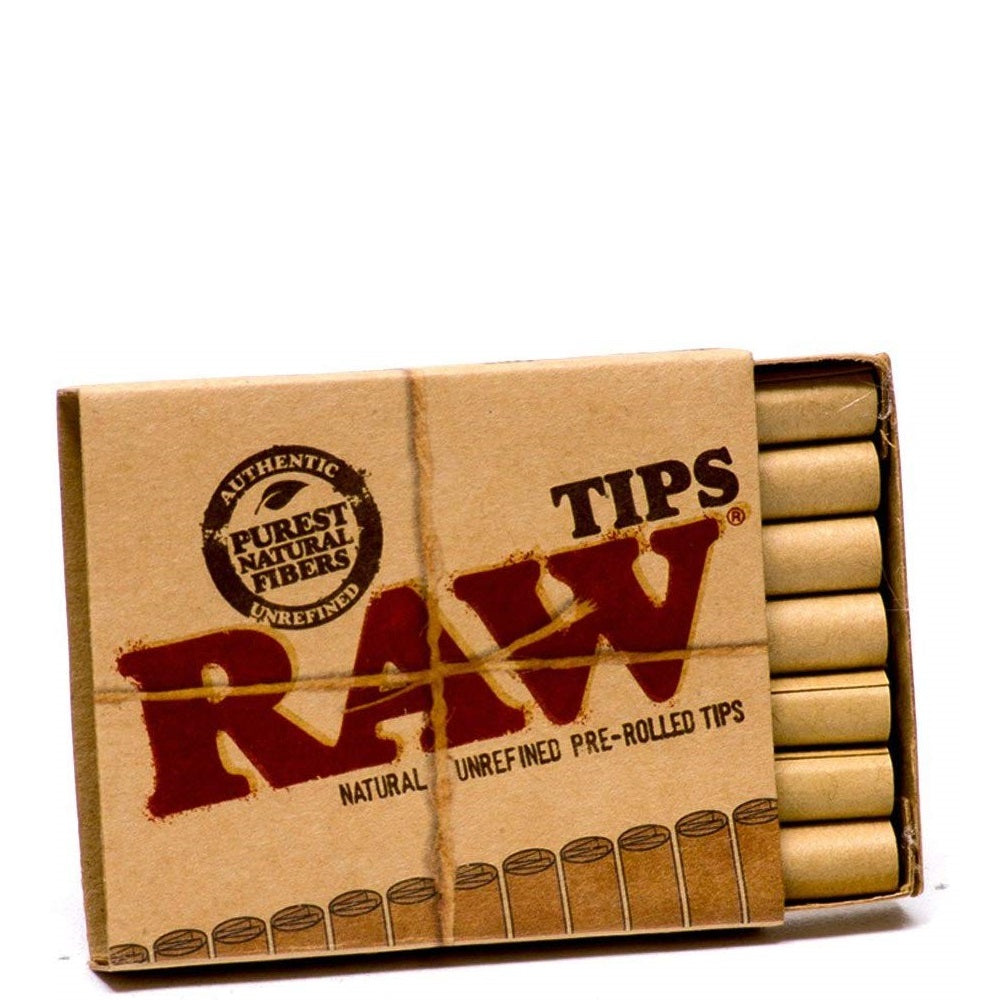 RAW Classic Pre-Rolled Tips - 20 Pack