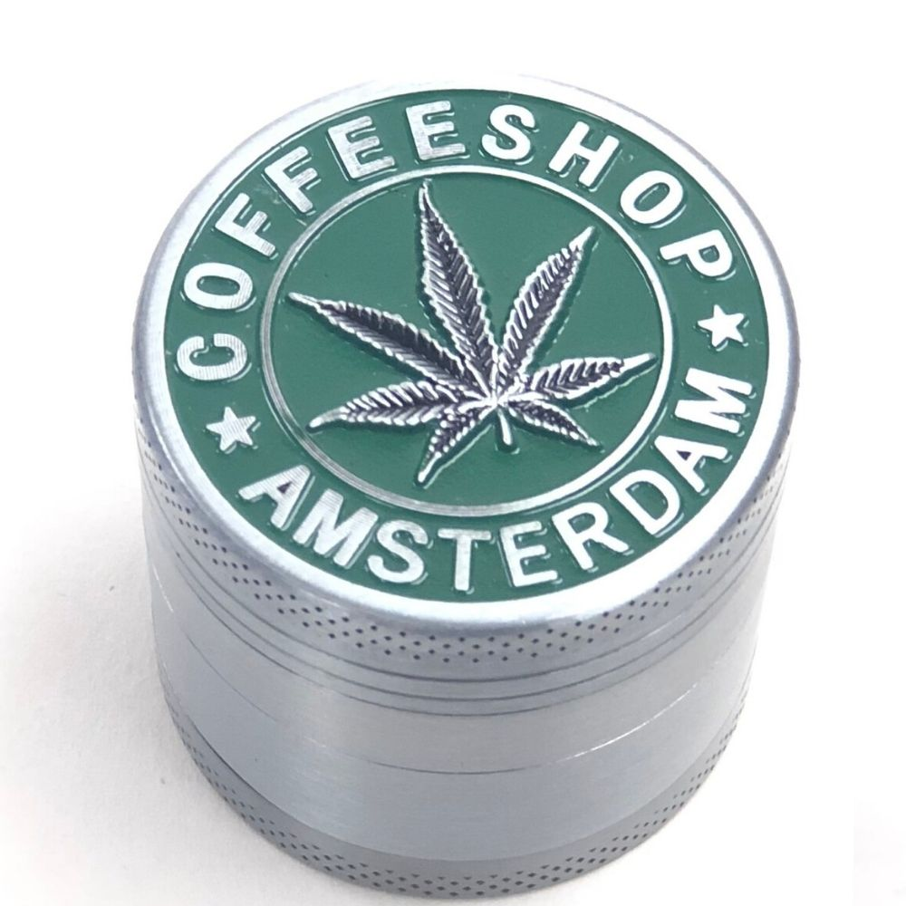 Amsterdam 40mm 4-Piece Grinder
