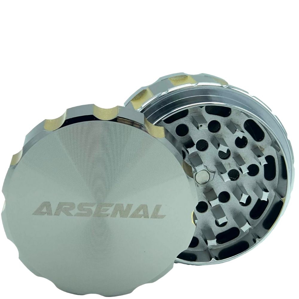 Arsenal Mega Revolver 63mm 4-Piece Grinder