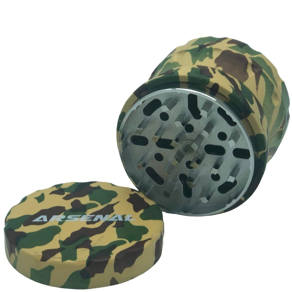 Arsenal Camo 64mm 4-Piece Grinder