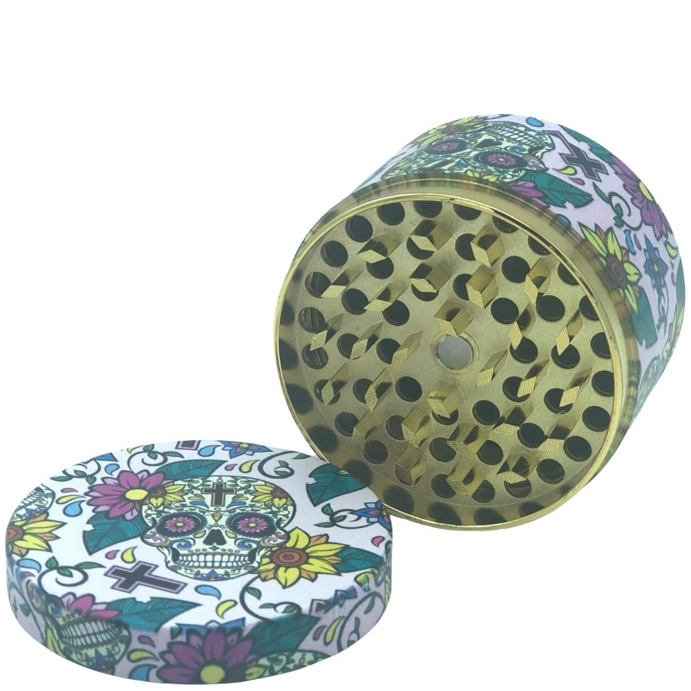 Sugar Skull 60mm 4-Piece Grinder