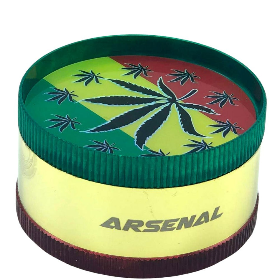 Arsenal Leaf 52mm 3-Piece Grinder