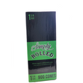 Simply Rolled Pre-Rolled 1 1/4 Size Cones - 900 Combo Pack