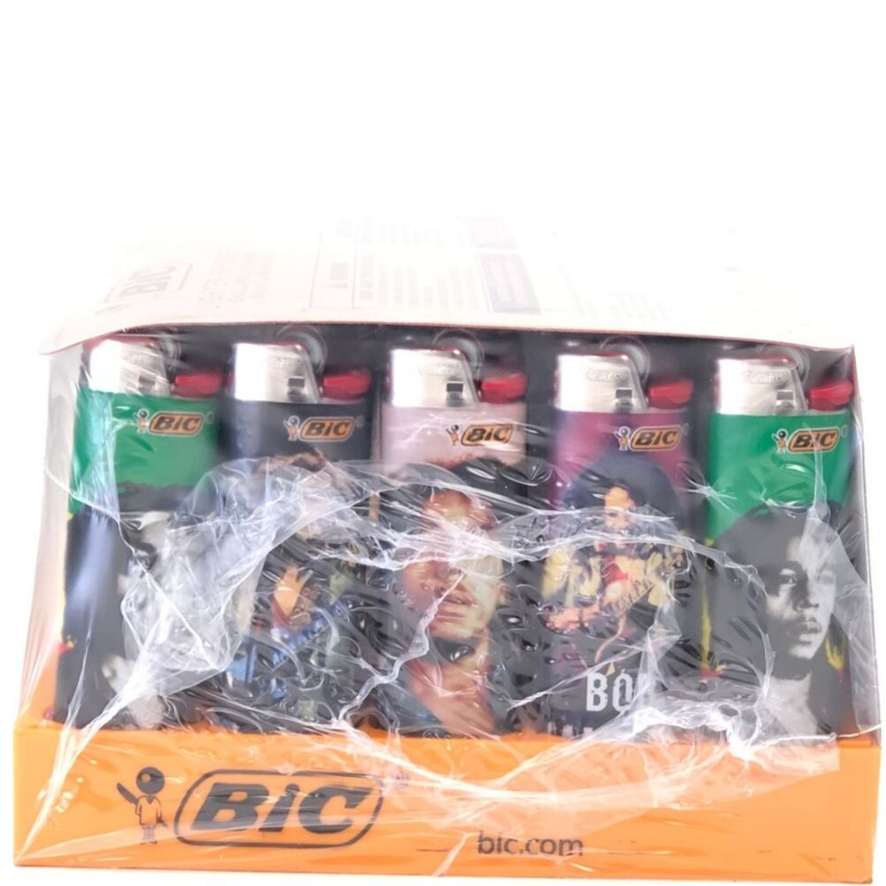 Bic Lighters Bob Marley Series - 50 pcs Display Case