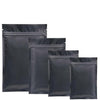 All Black 4″ x 6.63″ Mylar Bags