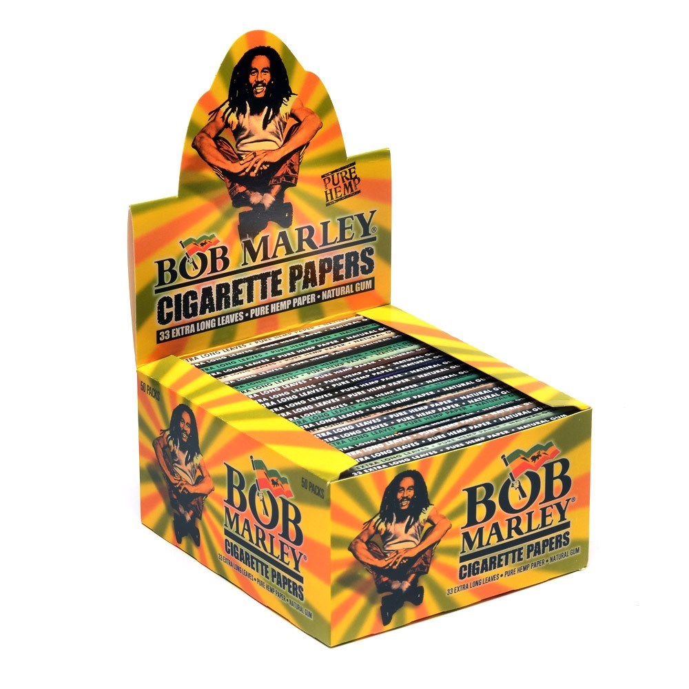 Bob Marley Hemp King Size Papers - 50 Pack