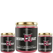 Boom Out Apple Cinnamon Scented Candle