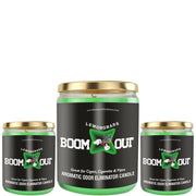 Boom Out Lemon Grass Scented Candle
