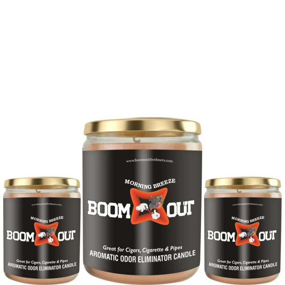 Boom Out Morning Breeze Scented Candle
