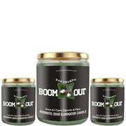 Boom Out Nag Champa Scented Candle