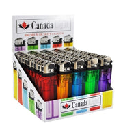 Canada Light Lighters - 50 Pack
